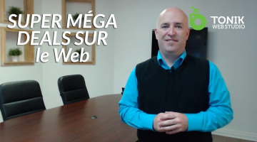 Promotion Internet : SUPER MÉGA DEALS sur le Web
