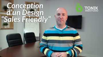 Conception d'un Design « Sales Friendly »